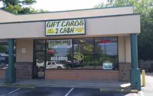 Sell Gift Cards for Cash on the Spot in Norfolk VA